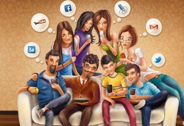 sosyal medya nedir, sosyal medyanın yararları ve zararları maddeler halinde, internetin faydaları nelerdir