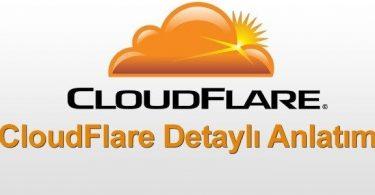 cloudflare kullanımı