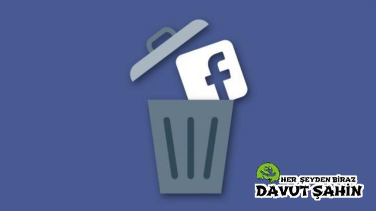 Facebook Hesabı Kalıcı Olarak Nasıl Kapatılır?