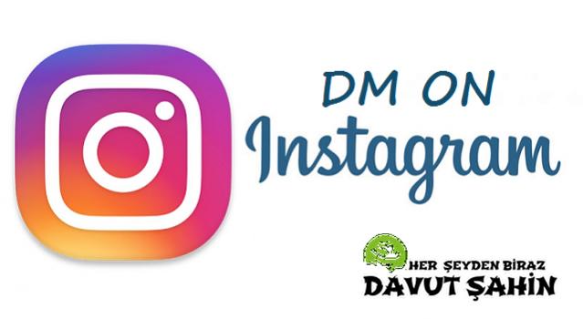 Instagram DM'ye Bilgisayardan Nasıl Giriş Yapılır?
