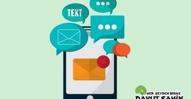 İstenmeyen SMS'leri Engelleme