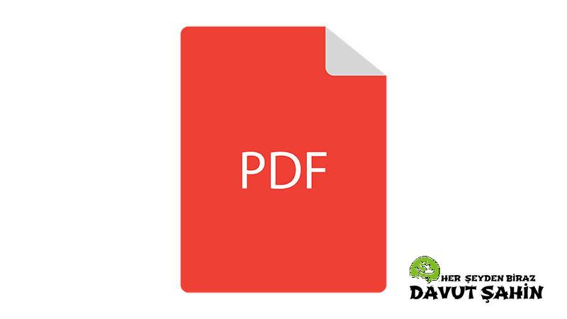 Online Pdf Düzenleme Nasıl Yapılır?