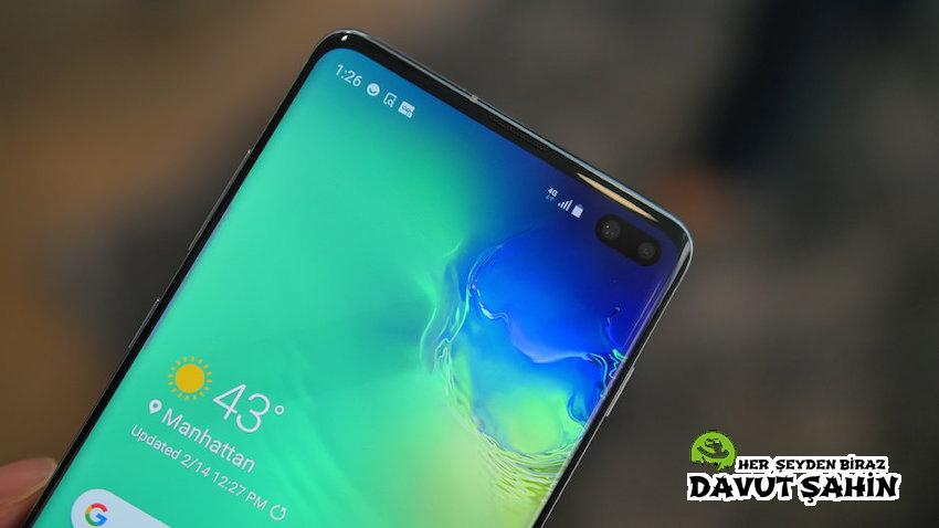 Samsung Galaxy S10'a Bildirim Işığı Nasıl Eklenir?