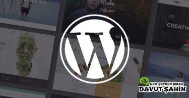 Wordpress Güncellemesi